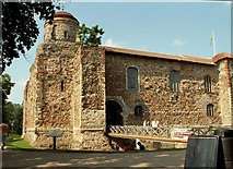 TL9925 : Colchester Castle by Robert Edwards