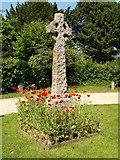 SU1012 : War Memorial at St. James Church, Alderholt by Adrian King