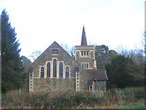TQ4251 : West end of St Andrew's church by Stephen Craven
