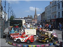 SO5140 : Roundabout at High Town by Trevor Rickard