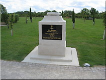 SK1814 : Memorial to The 11th Hussars 'The Cherrypickers' by Alan Heardman