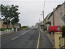 G7776 : Homes along the western outskirts of the village of Dunkineely by C Michael Hogan