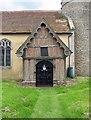 TM1582 : St George's Church, Shimpling, Norfolk - Porch by John Salmon