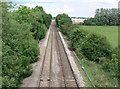 SK6313 : Railway line near East Goscote, Leicestershire by Mat Fascione