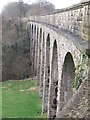 NY7808 : Merrygill Viaduct by Tim Leete