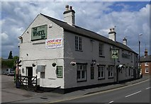 SK6514 : The Wheel Inn, Rearsby by Mat Fascione
