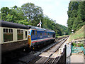 NZ8301 : Goathland Station, North Yorkshire Moors Railway by John Lucas