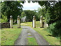 NS0762 : Gateway to Woodend House by william craig