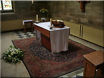 TA2609 : The Parish Church of St James, Grimsby, Altar by Alexander P Kapp