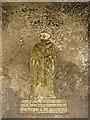 TF9521 : St Bartholomew's church - brass by Evelyn Simak