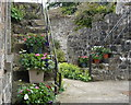 C9433 : Steps in the stable yard at Benvarden by Kay Atherton
