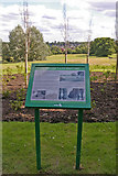 TQ3095 : New information board, Oakwood Park, London N14 by Christine Matthews
