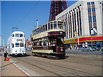SD3036 : A Bolton car in Blackpool by Dr Neil Clifton