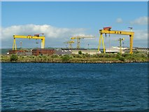 J3475 : Cushnahan Quay, Belfast by Rossographer