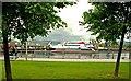 J3474 : IoM ferry at Belfast (3) by Albert Bridge