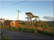 NS3262 : Tin shed, Heathfield by wfmillar