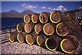 NR4173 : Whisky barrels at Bunnahabhainn by Tom Richardson