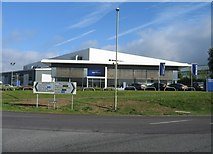 SU6252 : Alan Gibson - Volvo Dealership, Brunel Road by Given Up