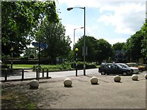 TL4661 : Citi 1 bus and parking area outside Campkin Road shops by Colin Bell