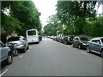TQ2479 : Holland Villas Road, W14 by Phillip Perry