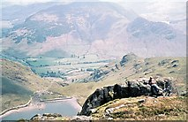 NY2807 : Stickle Tarn from Pavey Ark by Gordon Hatton