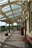 SD8557 : Hellifield station by David Pickersgill