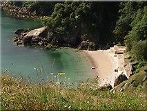 SX9364 : Redgate Beach from Walls Hill by Derek Harper