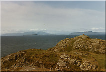 NM4167 : View north from near the Point of Ardnamurchan by Nigel Brown