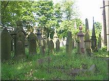 SE0726 : Christ Church Graveyard - Mount Pellon by Betty Longbottom