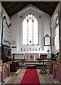 TG3821 : All Saints Church - the chancel by Evelyn Simak