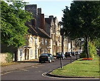 SP3509 : Houses on Church Green, Witney by Derek Harper