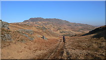 NR5582 : Heading East Above Loch Tarbert by Peter Edwards