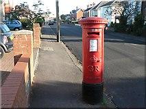 SZ0795 : Ensbury Park: postbox № BH10 152, Western Avenue by Chris Downer