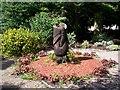 J0458 : Carving1, Healing Garden, Tannaghmore Gardens by P Flannagan