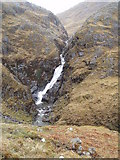 NH0217 : Waterfalls of Allt Grannda by Gregoire