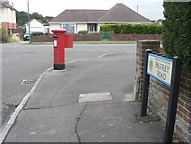 SZ0795 : Northbourne: postbox № BH10 340, Palfrey Road by Chris Downer