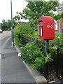 SZ0794 : Ensbury Park: postbox № BH10 156, Ensbury Avenue by Chris Downer