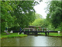 SU3668 : Kennet and Avon Canal east of Hungerford 4 by Jonathan Billinger
