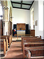 TG0934 : The church of SS Peter & Paul - south aisle by Evelyn Simak