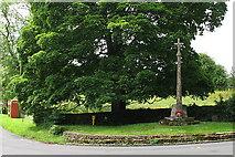 SO9312 : Brimpsfield War Memorial by Sharon Loxton