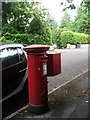 SZ0892 : Bournemouth: postbox № BH2 150, St. Valerie Road by Chris Downer