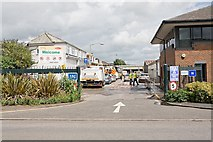 SU4828 : Serco central depot, Bar End Road, Winchester by Peter Facey