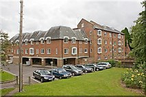 SU4828 : Wharf Mill, Wharf Hill, Winchester by Peter Facey