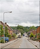 SU4828 : Looking along Bar End Road, Winchester by Peter Facey