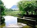 NY1421 : Upstream from Scalehill Bridge by Slbs