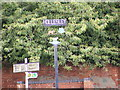 TM3544 : Hollesley Village Sign by Adrian Cable