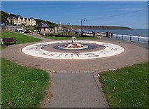TA1280 : Filey seaside fountain by Steve  Fareham
