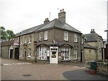 TL6463 : Newmarket: D W & R J Sweet newsagents by Nigel Cox