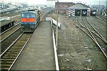 J3574 : Bridge End station and service depot , Belfast by Albert Bridge