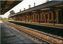 SO7845 : Great Malvern railway station by Row17